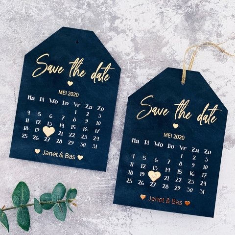 Save the date kalender | Studio Sproet